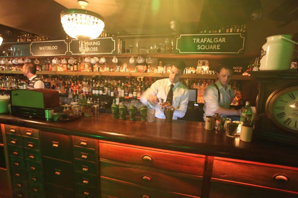 Drinks Underground. Photo: Cahoots