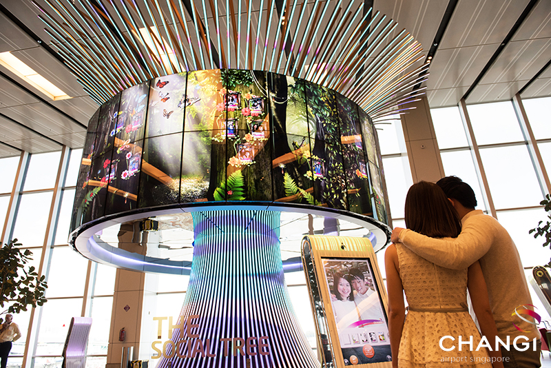 Free Wifi in Changi Airport