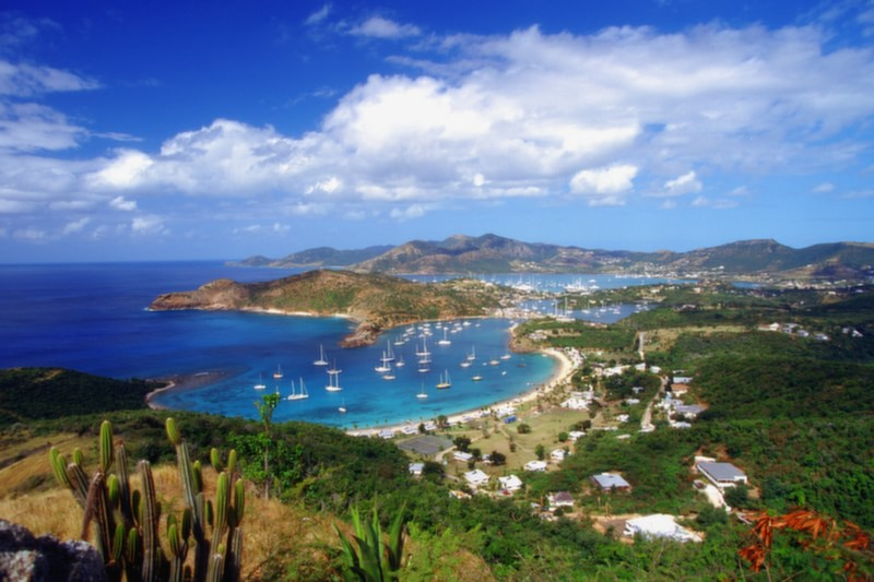 The English Harbour, Antigua