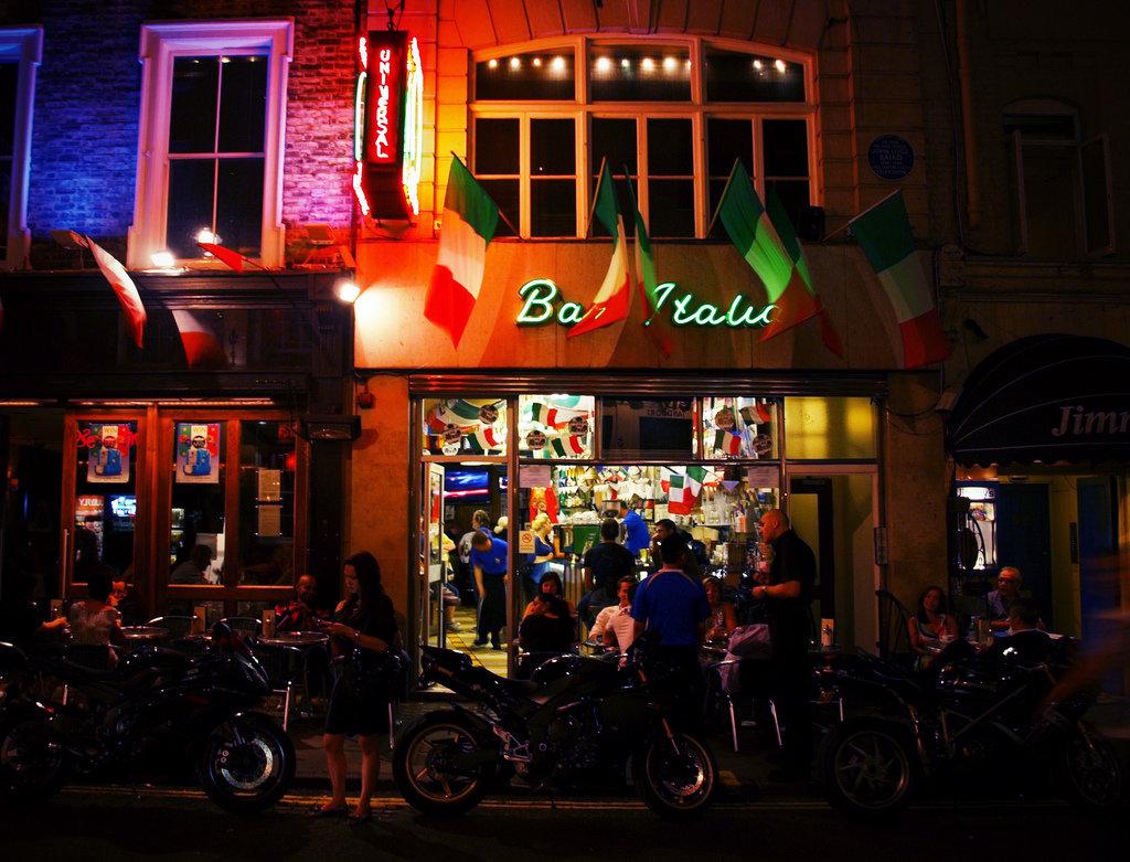 Bar Italia. Photo: seanbjack / Flickr