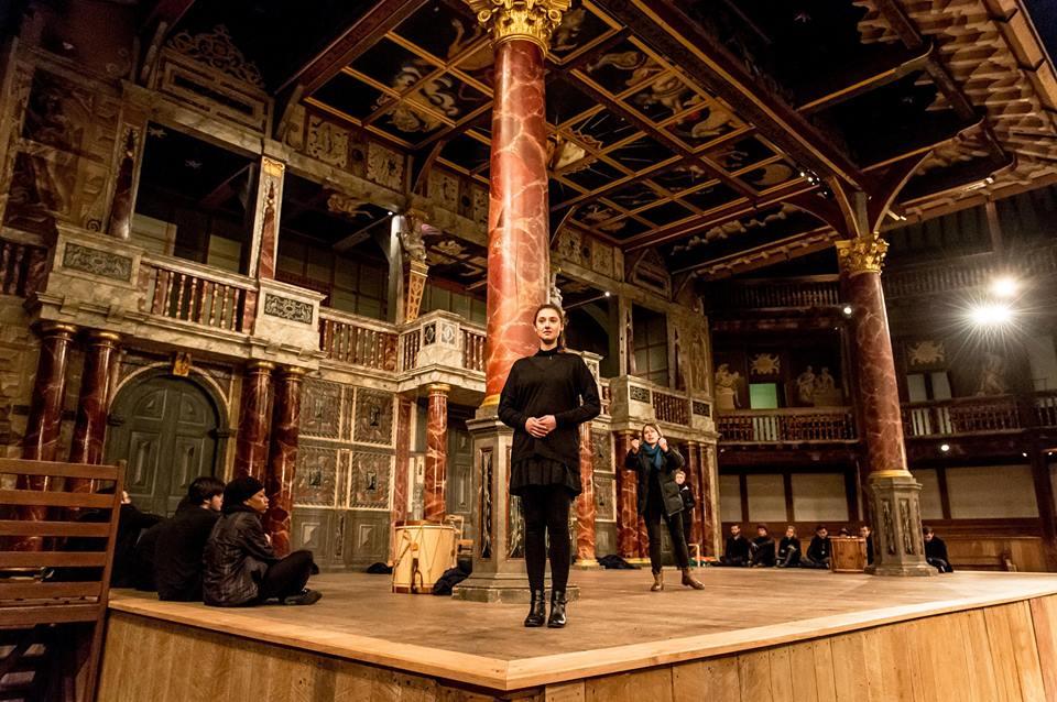 Hamlet. Photo: Shakespeare's Globe